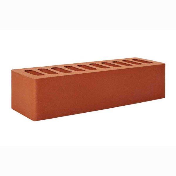 Одинарный красный облицовочный кирпич Эконом 0,7НФ