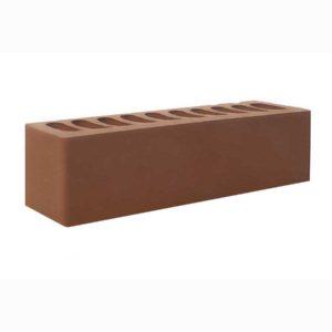 """Одинарный коричневый (""""шоколад"""") облицовочный кирпич """"Эконом"""" 0,7НФ"""