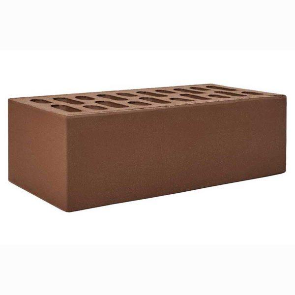 Полуторный коричневый (шоколад) облицовочный кирпич, 1,4НФ М-150